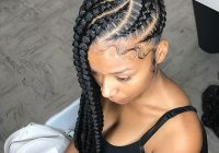 50 cool cornrow braid hairstyles to get in 2020 Side Cornrows Hairstyles