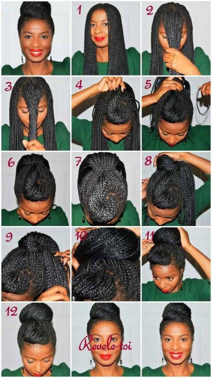 Permalink to 10 Beautiful Hair Styles For Box Braids Ideas