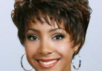 Cozy fashionable brown wavy short african american wigs Short African American Wigs