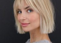 Trend 23 short hair with bangs hairstyle ideas photos included Short Hair With Full Fringe Choices
