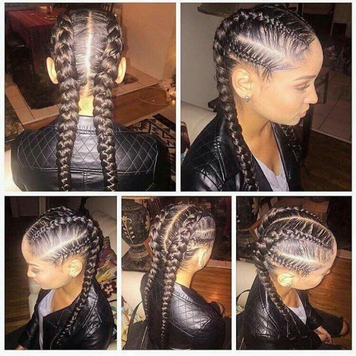 Permalink to 10 Perfect Black Hair French Braid Styles Gallery